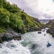 Wikingowie w kajakach, czyli rafting na Islandii