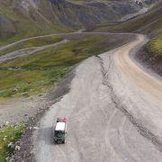 DEFE na drodze numer 11 (Dalton Hwy) z Fairbanks do Deadhorse.
