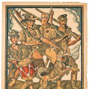 Plakaty patriotyczne z daru prof. Mariana Morelowskiego