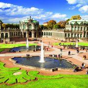 W Zwingerze znajduje się Galeria Obrazów Starych Mistrzów