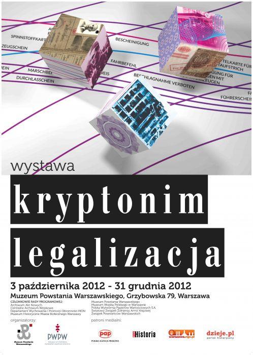 """""""Kryptonim legalizacja"""" w Muzeum Powstania Warszawskiego"""