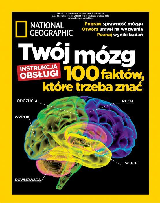 Twój mózg NG Polska - okładka