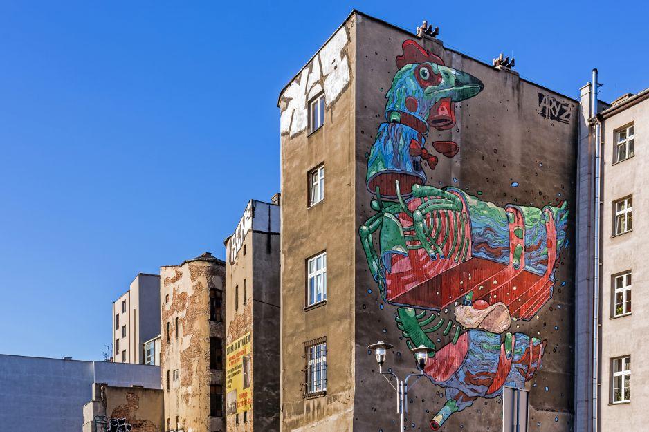 Miejskie dzieła sztuki
