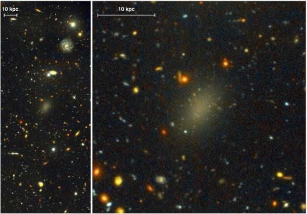 Galaktyka z ciemnej materii