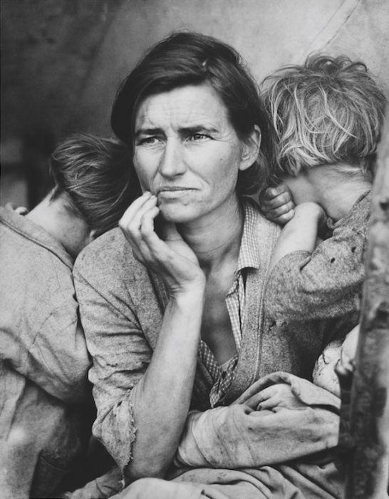 To zdjęcie stało się symbolem Wielkiego Kryzysu w USA. Jego historia jest przejmująca