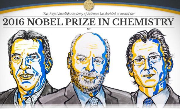 Nobel z chemii wręczony! Dla twórców najmniejszych maszyn świata