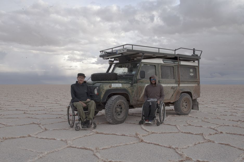 Zapał tych ludzi inspiruje. Wózkiem inwalidzkim na Rajdzie Dakar
