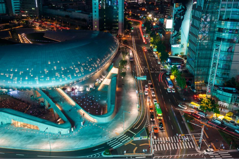 Budynek Dongdaemun Design Plaza