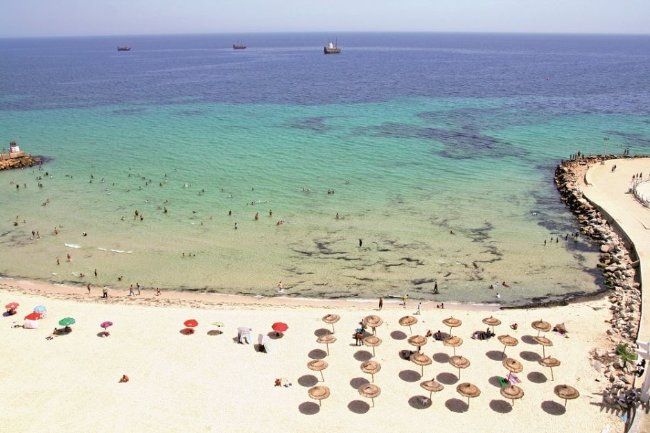 Tunezyjska plaża