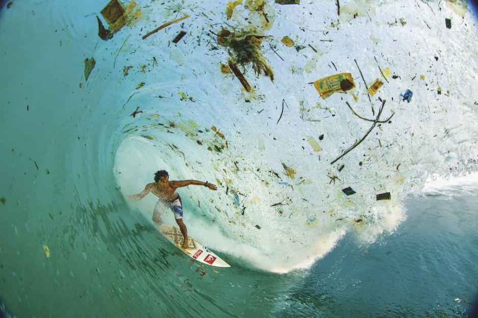 Surfing na śmieciach