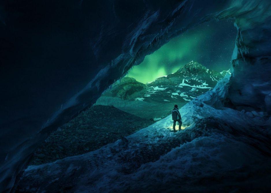 Jaskinia Athabasca w Kanadzie