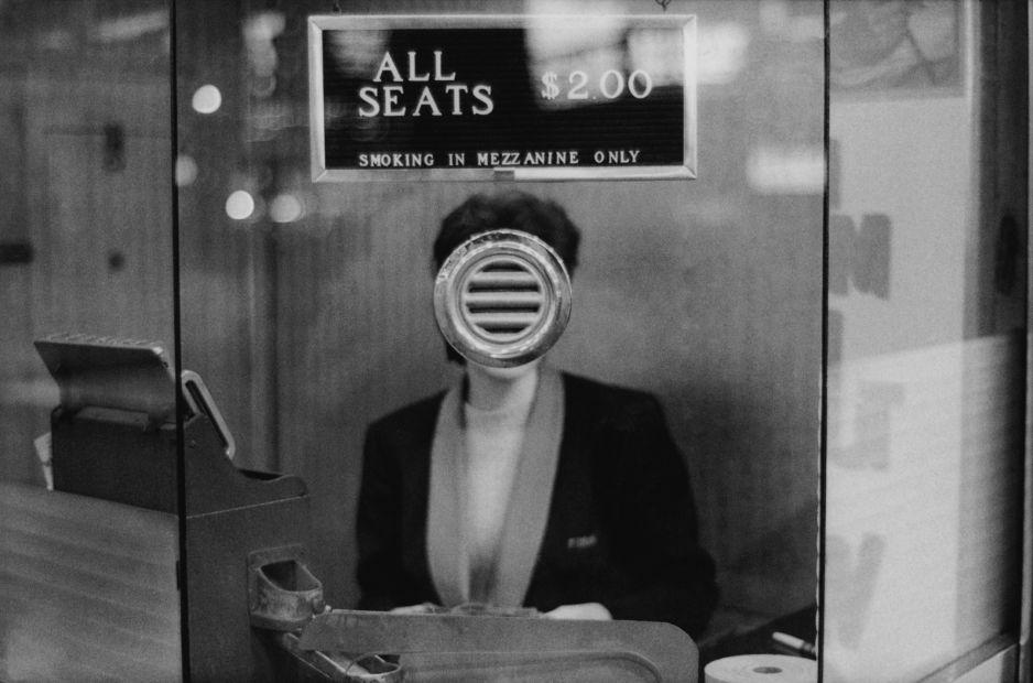 Kasa w kinie na Times Square