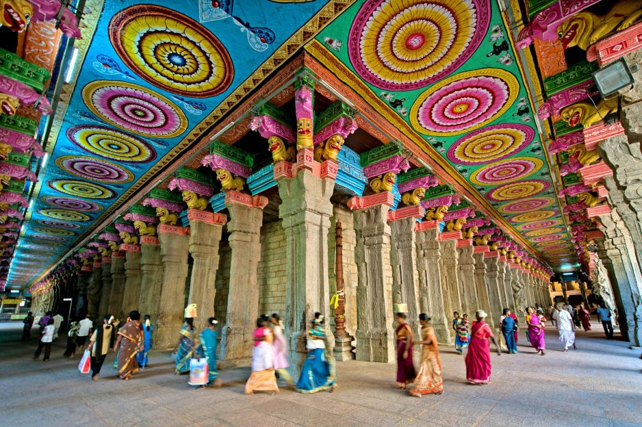 Świątynia kolorowych posągów