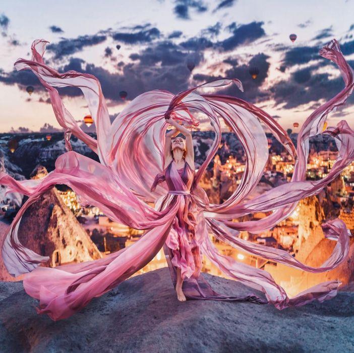 Piękne miejsca, piękne kobiety, piękne suknie - fotografie Kristiny Makeevy