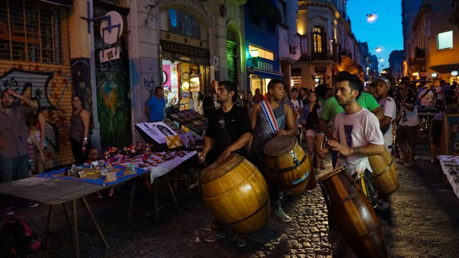 Zabawa na ulicach Buenos Aires