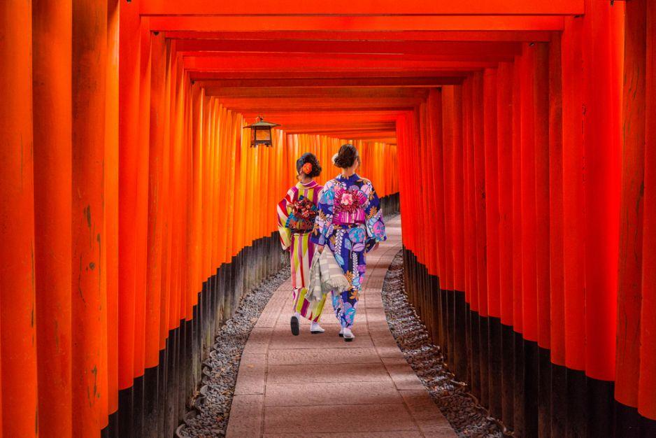 Las Bram w Kioto