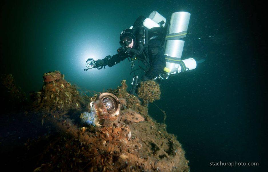 Ekspedycja nurkowa do zalanej serbskiej cerkwi