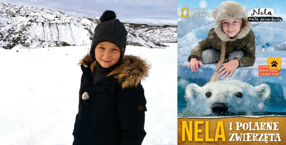 """""""Nela i polarne zwierzęta"""". To już dziewiąta książka młodej podróżniczki"""