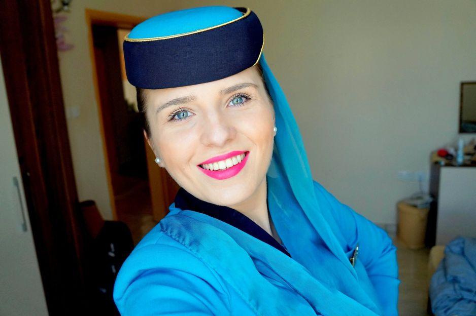 """Olga Kuczyńska, autorka książki """"Życie stewardesy"""""""