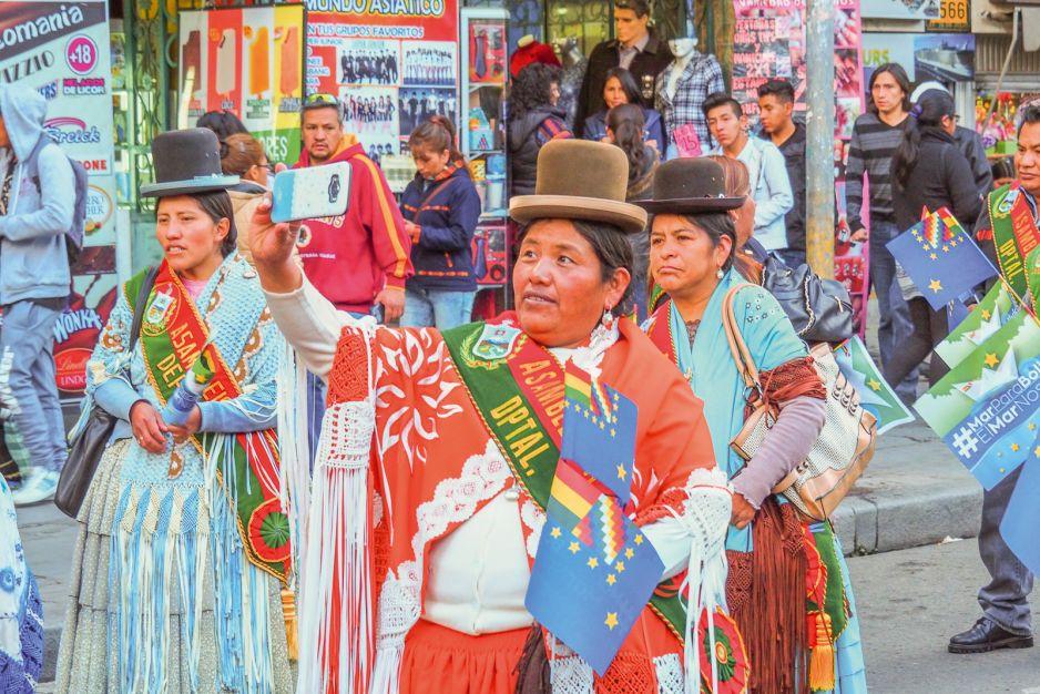 Magiczne miasto La Paz, Boliwia