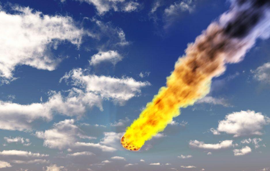 Meteor eksplodował nad Morzem Beringa. Wybuch o sile 10 bomb atomowych