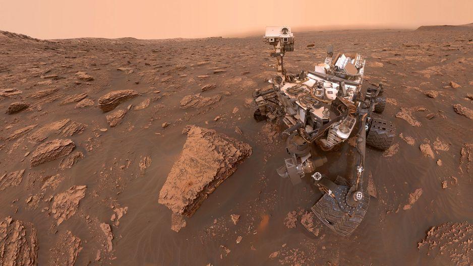 Na Marsie zanotowano wysoki poziom gazu, który może wskazywać na życie