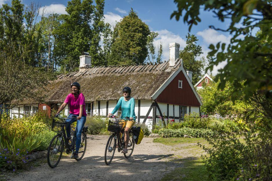 Na rowerowym szlaku Sydostleden