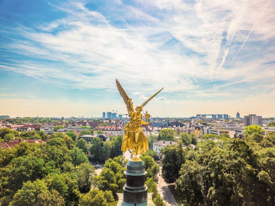 Anioł Pokoju strzeże Monachium (fot. Getty Images)
