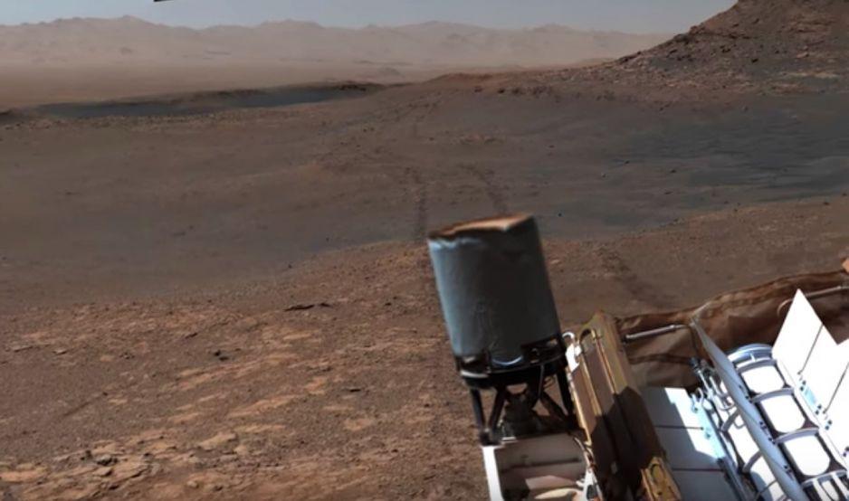Panorama Marsa w najwyższej rozdzielczości (fot. NASA Jet Propulsion Laboratory)