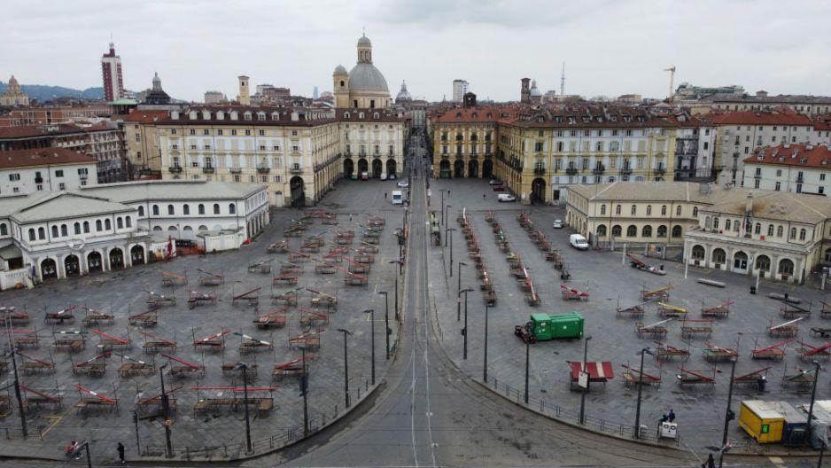 Włochy pod kwarantanną przypominają wymarły kraj (fot. Getty Images)