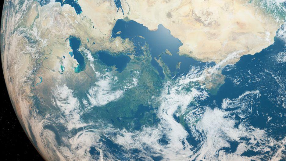 Dziura ozonowa zmniejsza się (fot. Getty Images)