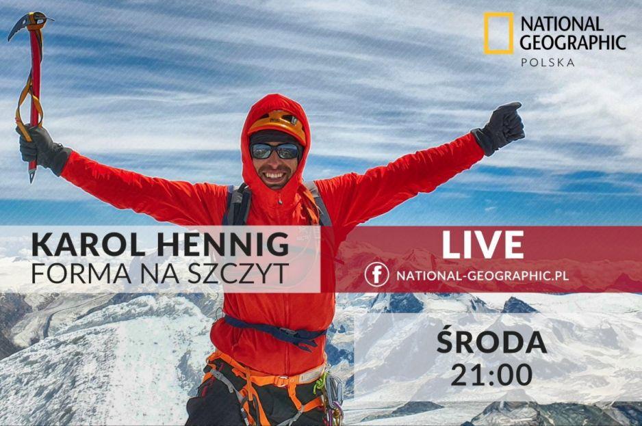 Jak przygotować się do wypraw w góry? Zapraszamy na LIVE z Karolem Hennigiem
