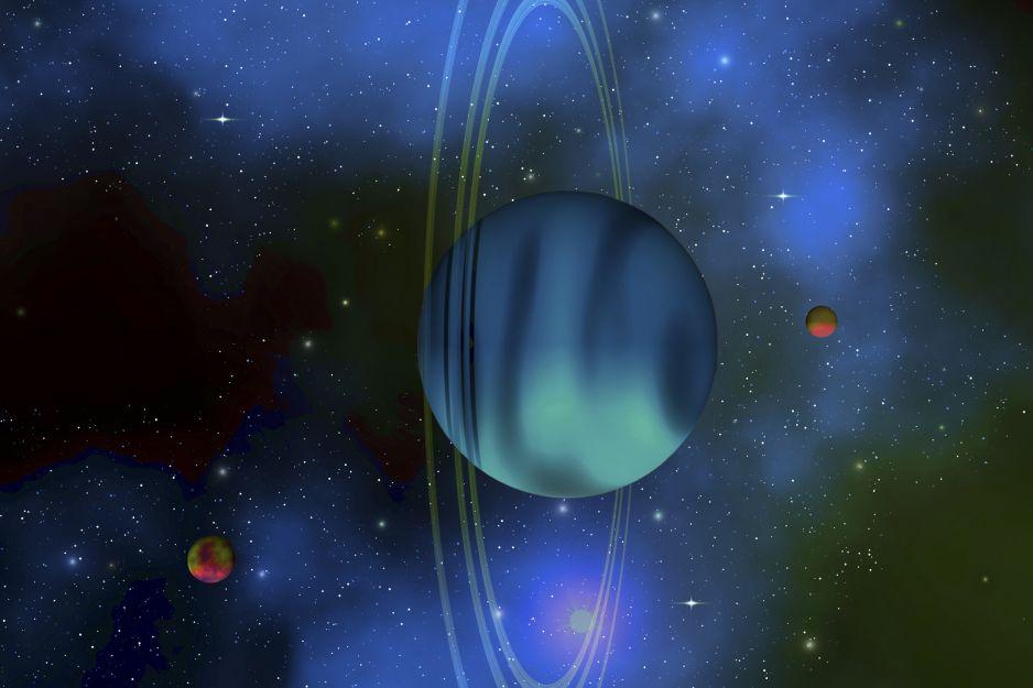 Uran to jedna z najsłabiej zbadanych planet naszego Układu Słonecznego (fot. Getty Imags)