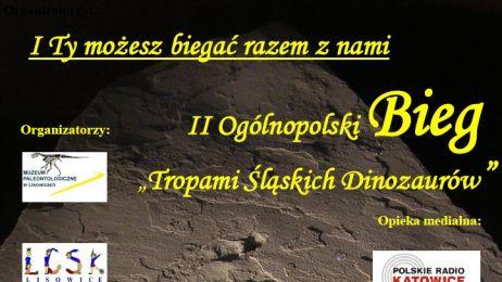 """II Ogólnopolski Bieg """"Tropami śląskich dinozaurów"""""""