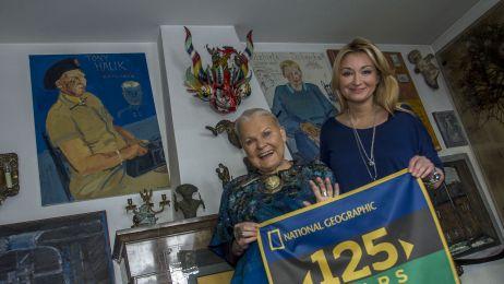 Flaga NGS dla Elżbiety Dzikowskiej