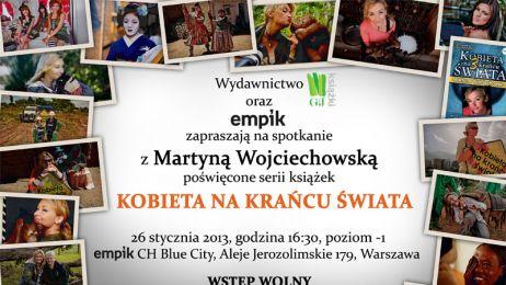 Zapraszamy na spotkanie autorskie z Martyną Wojciechowską!