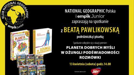 Klub NG z Beatą Pawlikowską