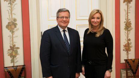 Prezydent_RP_Bronislaw_Komorowski_Martyna_Wojciechowska_foto