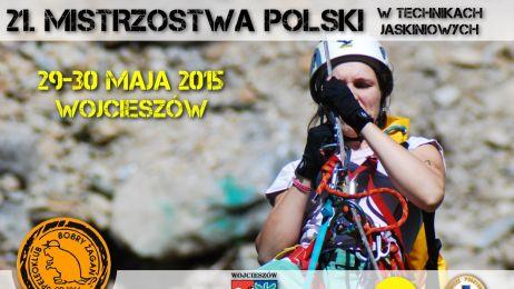 21._MISTRZOSTWA_POLSKI_W_TECHNIKACH_JASKINIOWYCH_-_PLAKAT