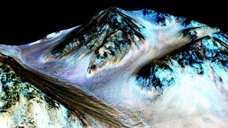 NASA. Mars - jest woda na tej planecie
