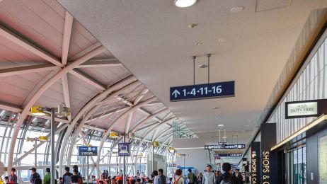 Odwołany lot i opóźnienia