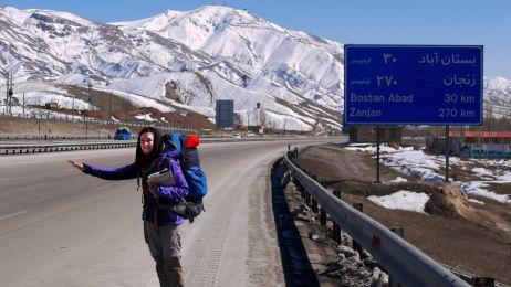 Autostop w Iranie