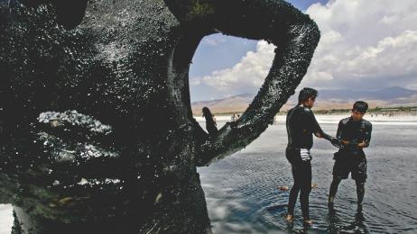 jezioro umria Iran