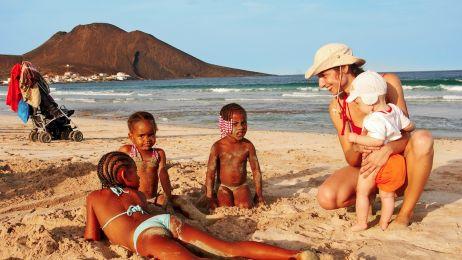 Podróż z rocznym maluchem na Cabo Verde