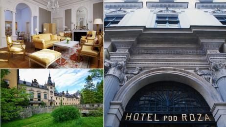 TOP 10 zabytkowych hoteli