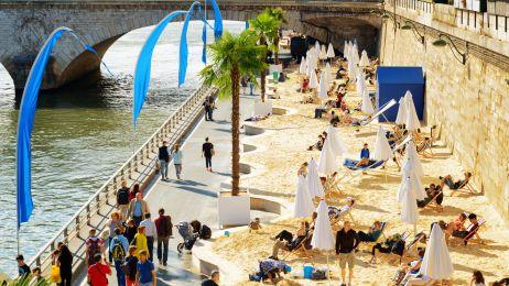 Miejskie plaże