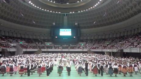 2500 Japończyków tańczy poloneza