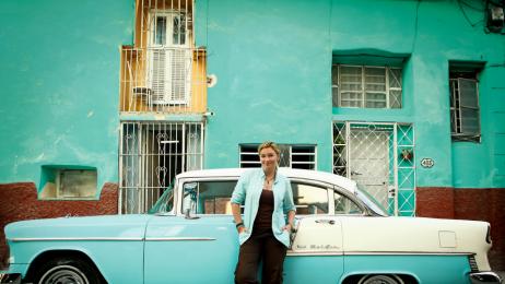 Martyna Wojciechowska w Hawanie