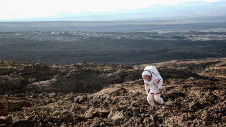 Mars na Hawajach