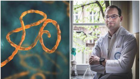 Pan od eboli. Poznaj twórcę broni do walki z zabójczym wirusem